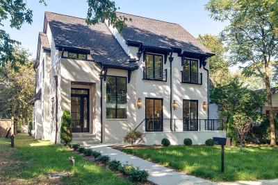 Nashville Single Family Home For Sale: 2612 Belcourt Ave