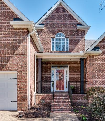 Franklin Single Family Home Under Contract - Showing: 288 Stonehaven Cir