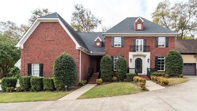 Nashville Single Family Home For Sale: 1606 A Shackleford Rd