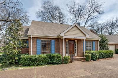 Green Hills Single Family Home Under Contract - Not Showing: 1921 Overhill Dr