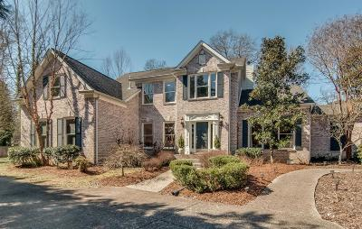 Nashville Single Family Home Under Contract - Showing: 3702 Hobbs Rd
