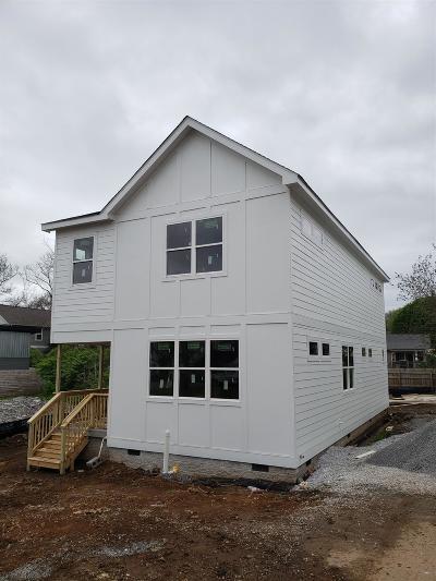 Nashville Single Family Home For Sale: 923 E Delmas Ave
