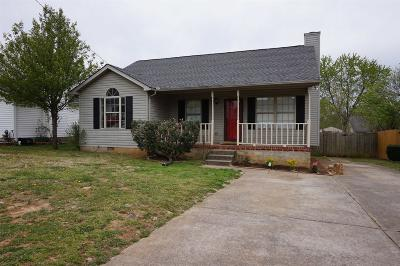 Single Family Home Under Contract - Showing: 324 Cedar Park Cir