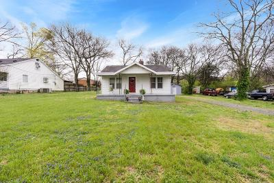 Goodlettsville Single Family Home For Sale: 114 Harris St