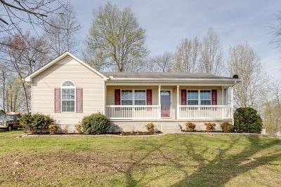 Lewisburg Single Family Home Under Contract - Not Showing: 1560 Titan Way