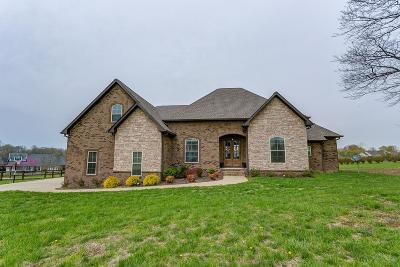 Robertson County Single Family Home Under Contract - Not Showing: 82 Deer Run Rd