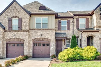 Mount Juliet Condo/Townhouse For Sale: 522 Millwood Ln