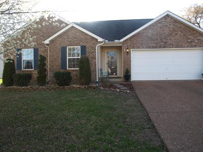 Mount Juliet Single Family Home Under Contract - Showing: 8025 Meadowview Ln