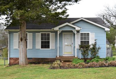 Madison Single Family Home Under Contract - Not Showing: 1422 Ocoee Trl