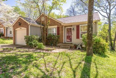 Nashville Single Family Home Under Contract - Not Showing: 3964 Atkins Dr