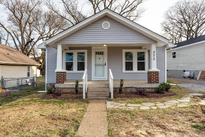 Old Hickory Single Family Home For Sale: 373 Rayon Dr