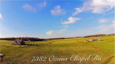 Residential Lots & Land For Sale: Owens Chapel Rd