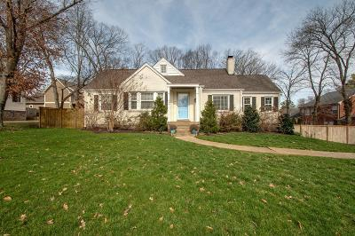 Nashville Single Family Home Under Contract - Showing: 934 Battery Ln