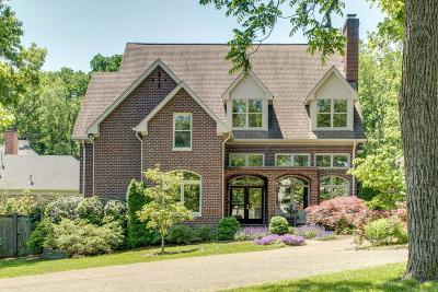 Nashville Single Family Home For Sale: 3629 Brighton Rd
