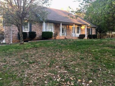 Springfield Single Family Home Under Contract - Not Showing: 2009 Cherokee Trl