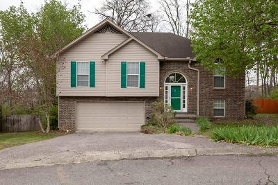 Hendersonville Single Family Home Under Contract - Not Showing: 117 Redbud Dr
