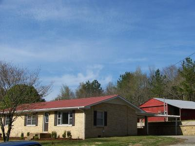 Pulaski Single Family Home Active Under Contract: 2176 Columbia Hwy