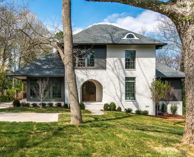Nashville Single Family Home For Sale: 3602 Hobbs Rd