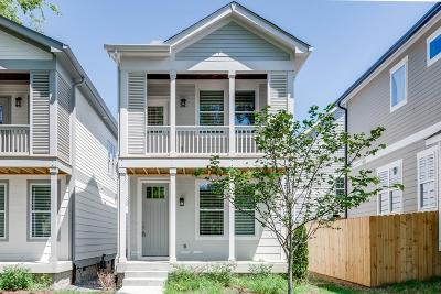 Nashville Single Family Home Under Contract - Showing: 5602 A New York