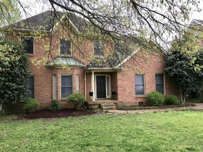 Williamson County Single Family Home Under Contract - Showing: 1119 Glenbrook Dr