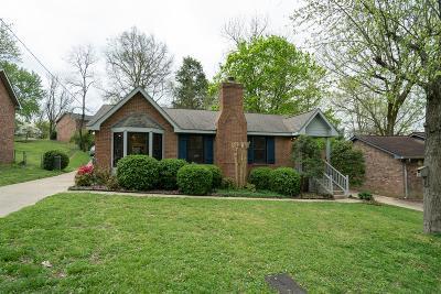 Nashville Single Family Home For Sale: 3017 Blackwood Dr