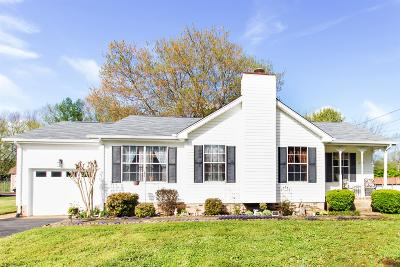 Smyrna Single Family Home Under Contract - Not Showing: 209 Ashmont Ln