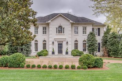 Belle Meade Single Family Home For Sale: 407 W Brookfield Ave