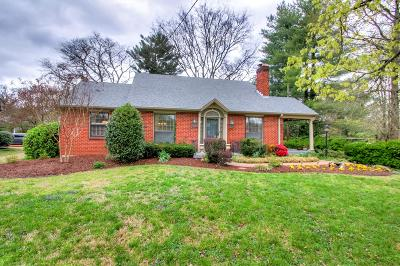 Nashville Single Family Home Under Contract - Showing: 1004 Graybar Ln