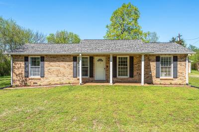 Kingston Springs Single Family Home Under Contract - Not Showing: 461 Page Rd