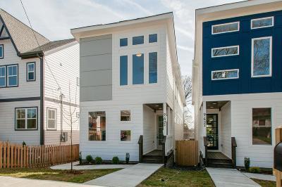Nashville Single Family Home For Sale: 942 B 31st Ave N