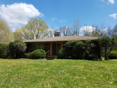 Franklin Single Family Home For Sale: 1135 Lewisburg Pike