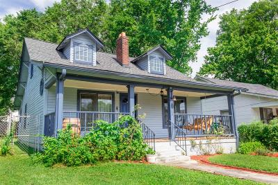 Nashville Single Family Home Active Under Contract: 1218 N 6th St