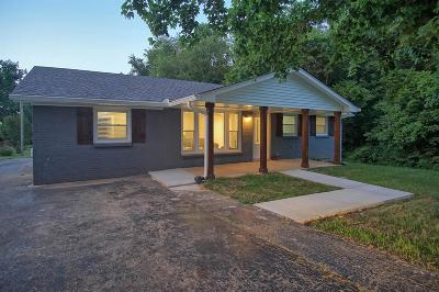 Springfield Single Family Home Under Contract - Not Showing: 201 Alsup Dr