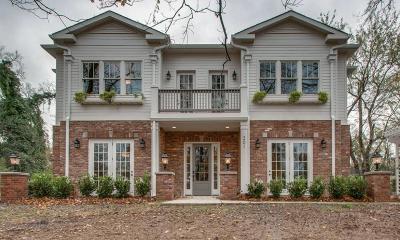 Nashville Condo/Townhouse For Sale: 2014 Cedar Lane