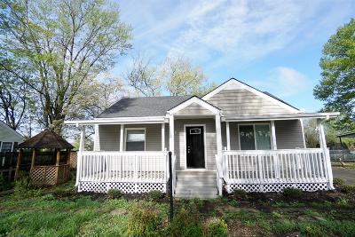 Smyrna Single Family Home Under Contract - Not Showing: 403 Fairview