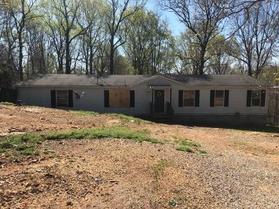 Chapmansboro Single Family Home For Sale: 1219 Hillview Ln