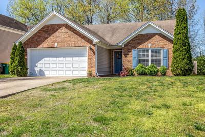 Spring Hill Single Family Home Under Contract - Not Showing: 4027 Deer Run Trce