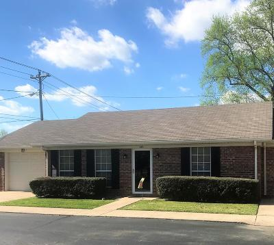 Shelbyville Condo/Townhouse Under Contract - Not Showing: 617 S Brittain St