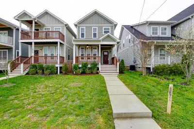 Nashville Single Family Home Under Contract - Showing: 6012 A Morrow