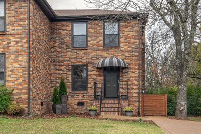 Nashville Single Family Home Active Under Contract: 808 Kinsington Drive
