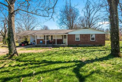 Pegram Single Family Home Under Contract - Showing: 8671 Old Charlotte Pike