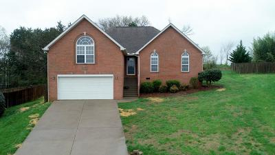 Mount Juliet Single Family Home Under Contract - Showing: 6017 Assault Ct