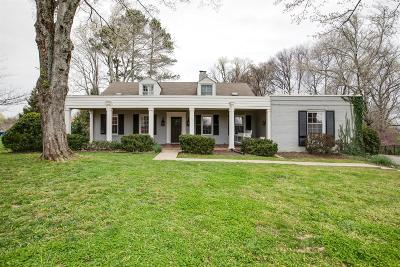 Brentwood Single Family Home Under Contract - Showing: 317 Fielding Crest