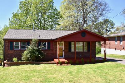 Nashville Single Family Home Active Under Contract: 3131 Lake Park Dr