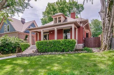 Nashville Single Family Home For Sale: 927 Acklen Ave
