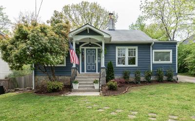 Nashville Single Family Home For Sale: 201 Bellmore Ave