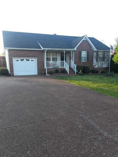 Greenbrier Single Family Home Under Contract - Showing: 1016 Glennie Lee Dr
