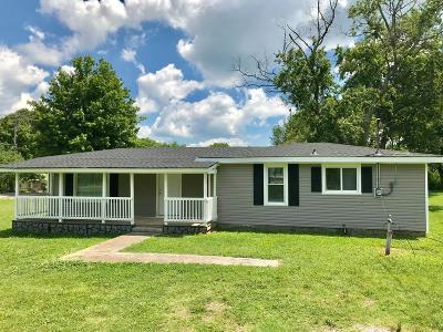Murfreesboro Single Family Home Under Contract - Not Showing: 2420 Central Blvd