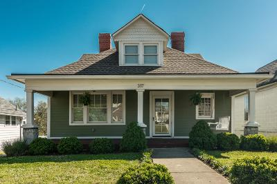 Nashville Single Family Home Under Contract - Showing: 317 Neill Ave