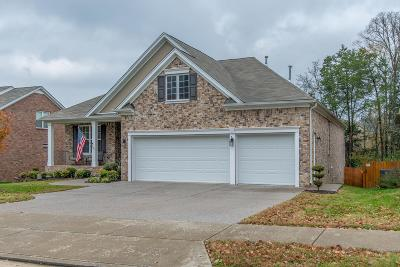 Mount Juliet Single Family Home For Sale: 2716 Alvin Sperry Pass